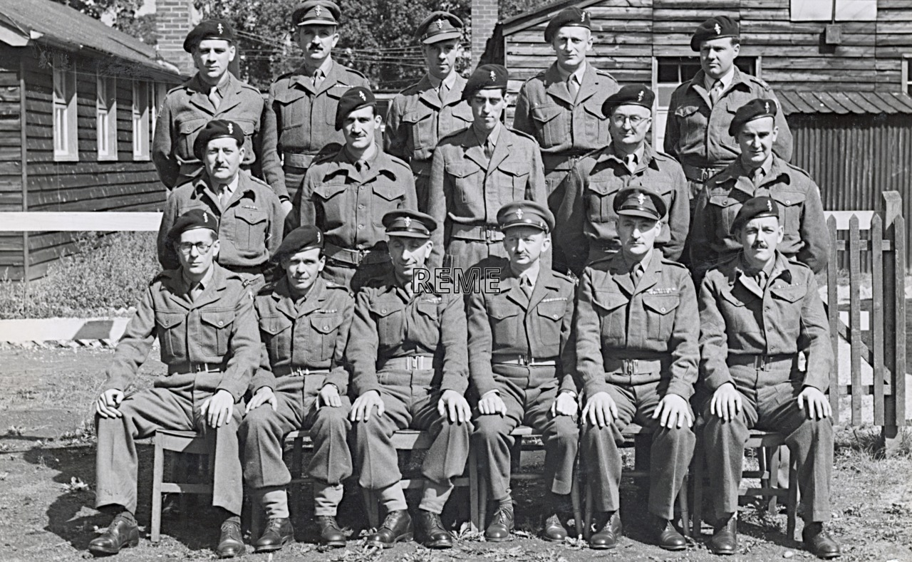 No 8 Reserve Officers' Course, 17 to 26 August 1952