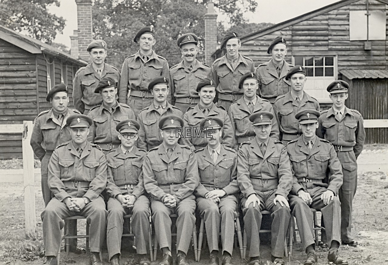 No 9 Reserve Officers' Course, 31 August to 9 September 1952
