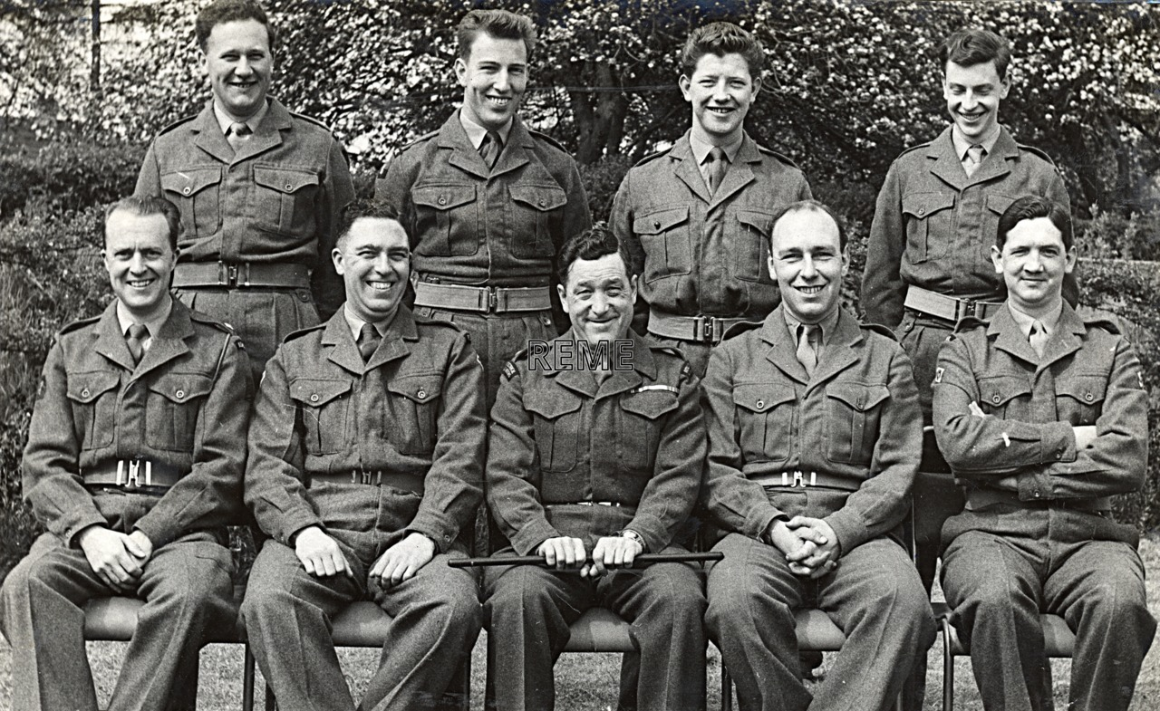 No 1 Territorial Army (TA)/Army Emergency Reserve (AER) Probationary Officers' Course, 2 to 7 May 1960
