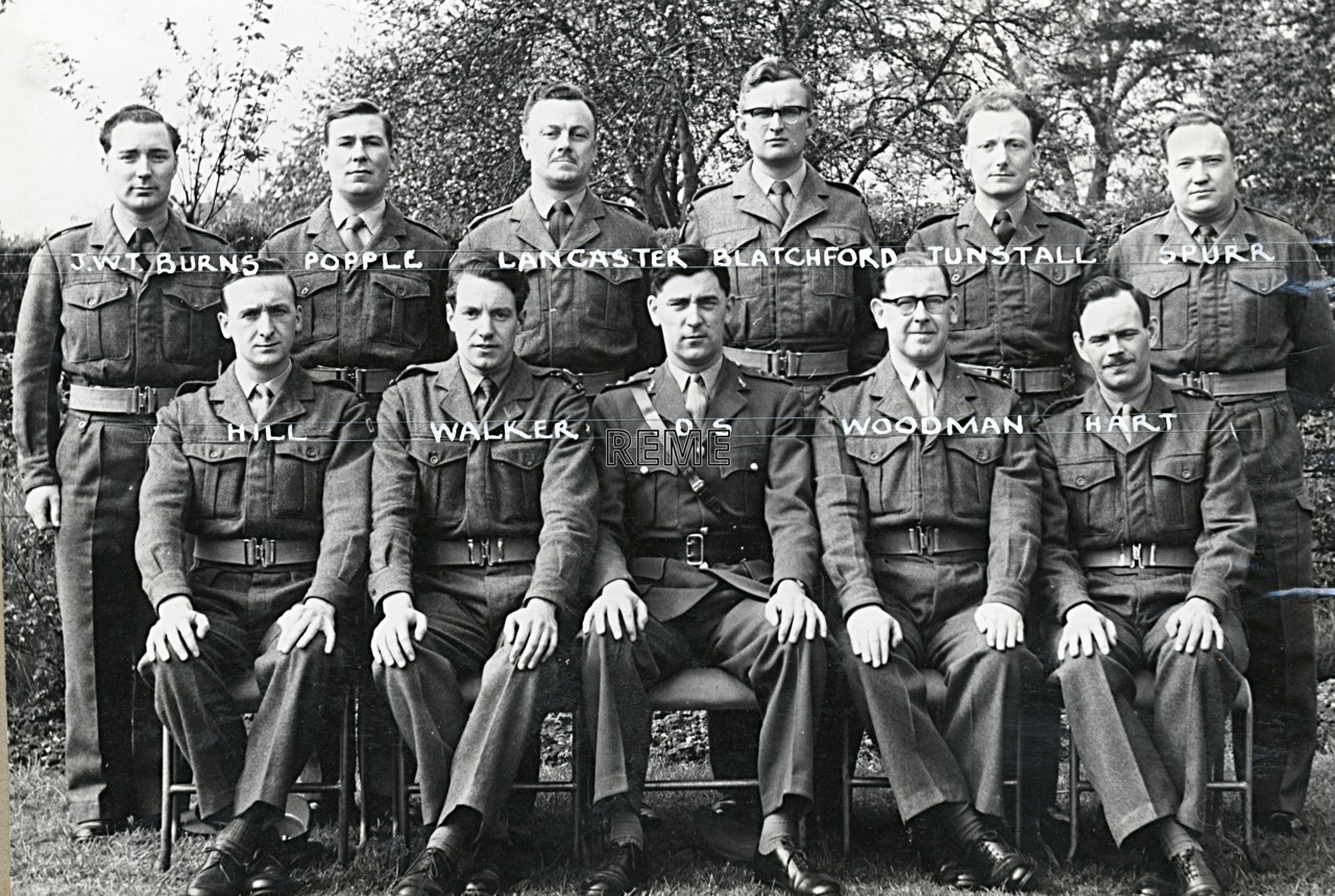 No 5 Territorial Army (TA)/Army Emergency Reserve (AER) Probationary Officers' Course, 20 to 25 June 1960