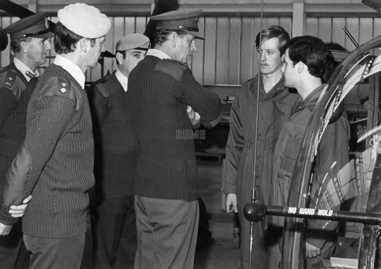 'Colonel in Chief visits Bulford, Andover and Middle Wallop'