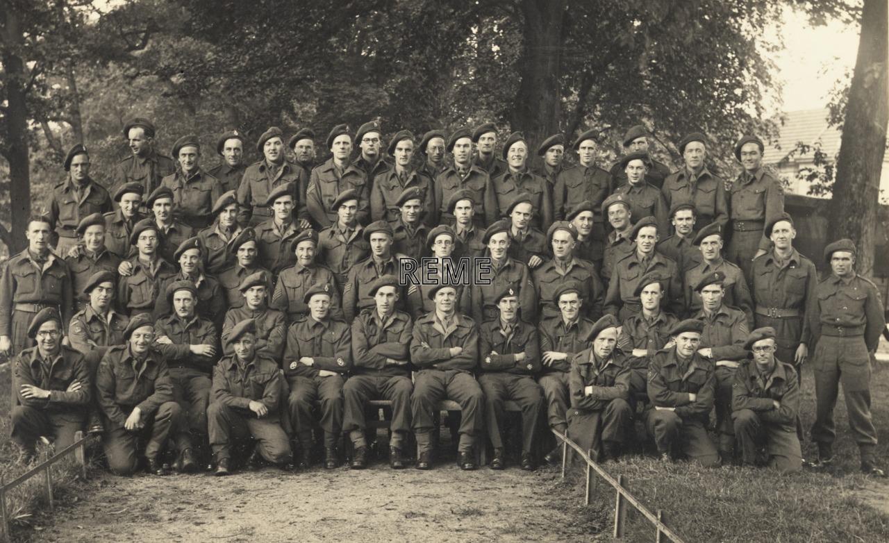 115 Regiment REME Workshop. 74 Brigade, 1st Canadian Army.