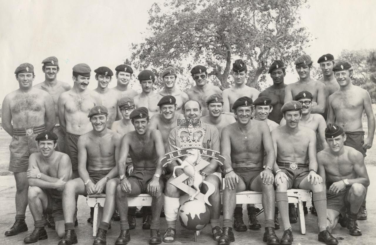Force Workshop Belize 1975