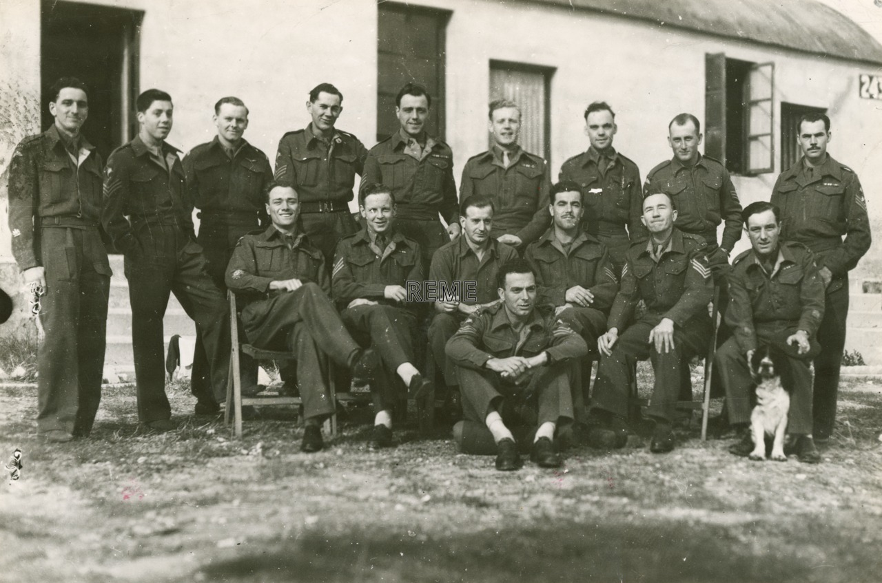 6 Airborne Division REME Sergeants' Mess, Palestine (Israel), 1946.