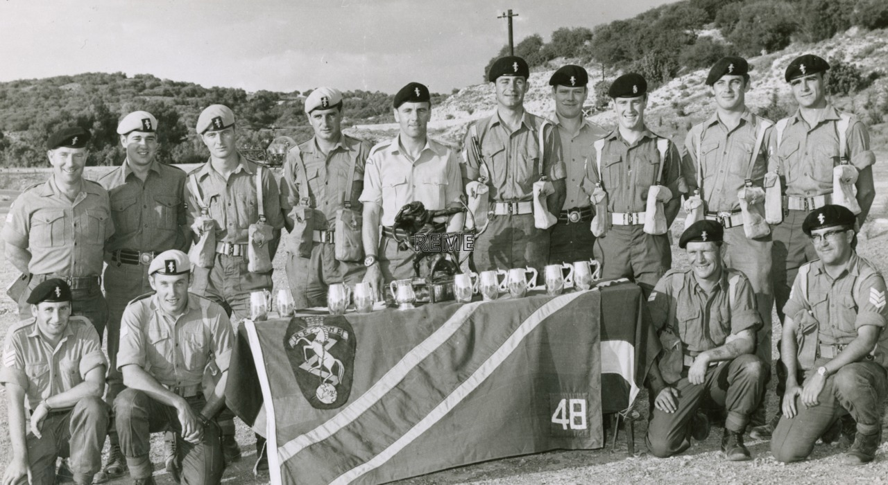 48 Command Workshop REME, Winners,1971.