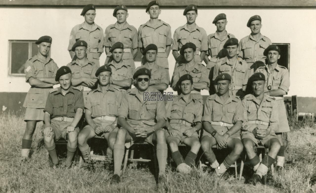6 Airborne Division Workshop, Palestine (Israel), 1946