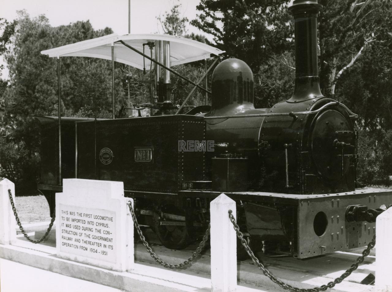 The Restoration of Cyprus Government Railway Locomotive Number 1