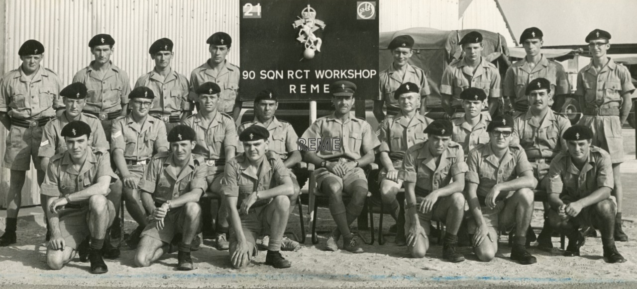 90 Squadron Royal Corps of Transport (RCT) Workshop REME, Sharjah