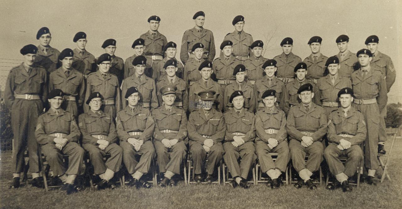 1 Engineer 'C' Vehicle Workshop REME, BAOR (British Army of the Rhine)
