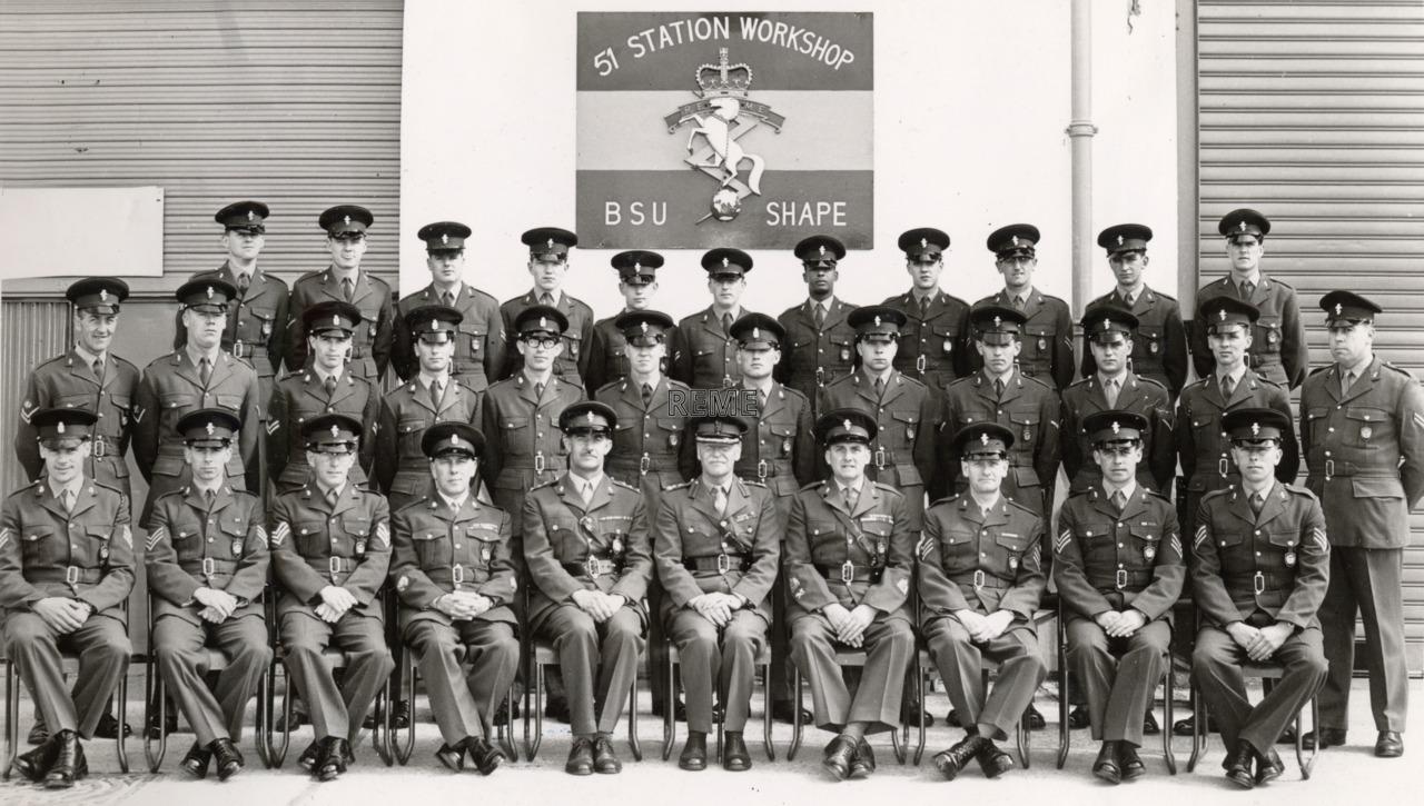 51 Station Workshop, BSU SHAPE (Supreme Headquarters Allied Powers Europe)