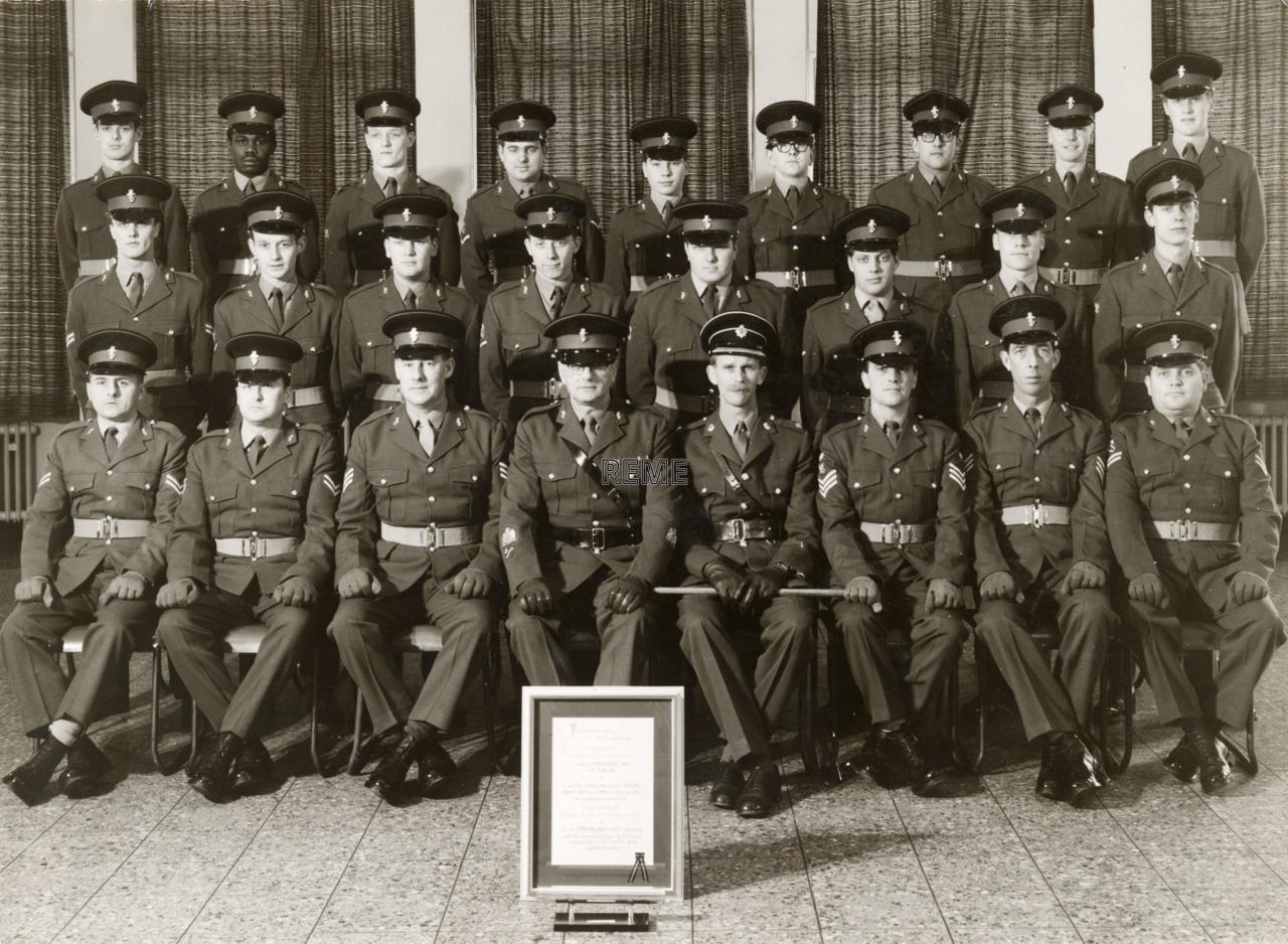9 Squadron Workshop REME, October 1970.