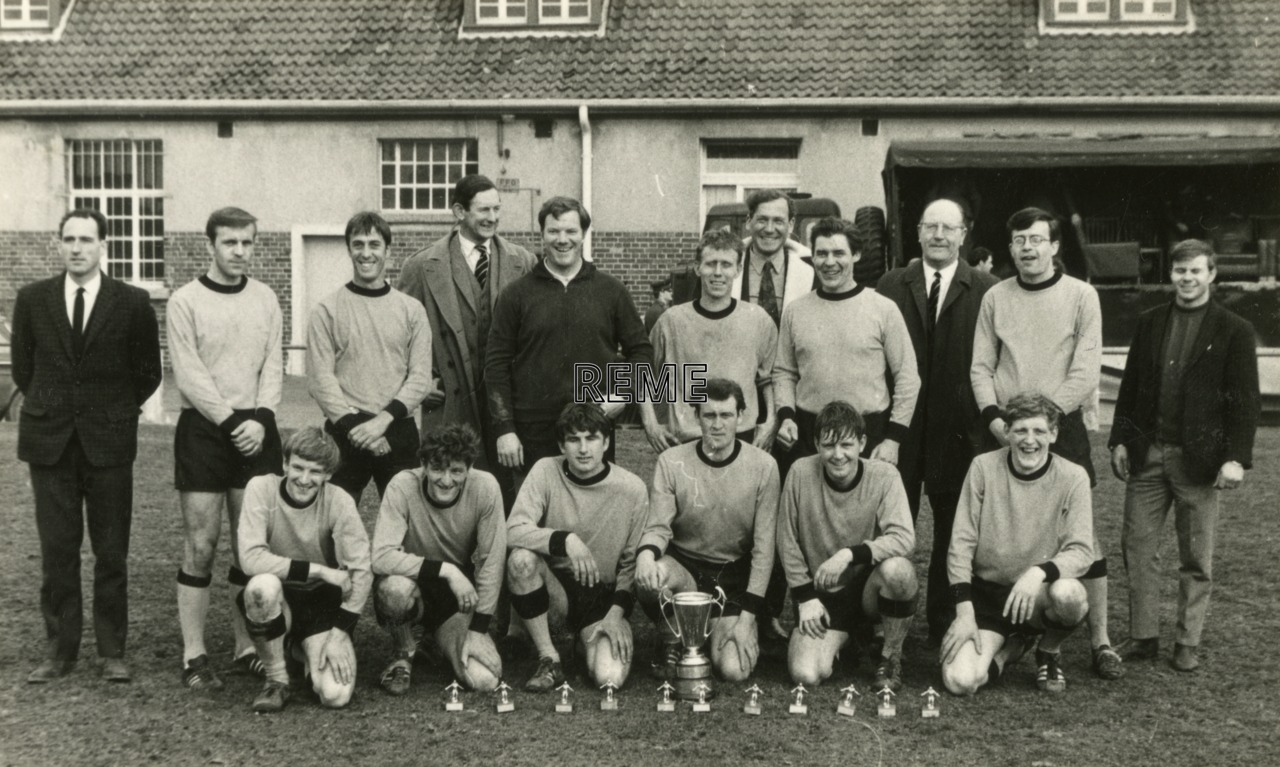 Craftsman's Cup Football Team, 1970-1971.