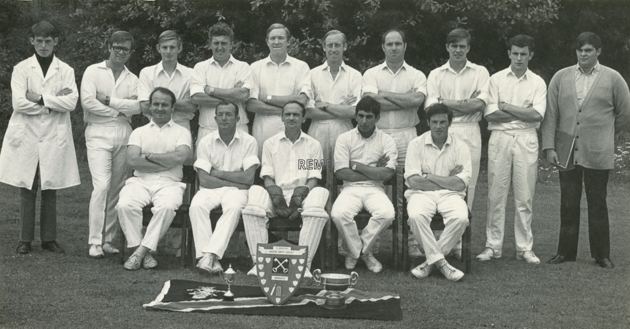 Cricket Craftsmans Cup Winners, Summer 1972.