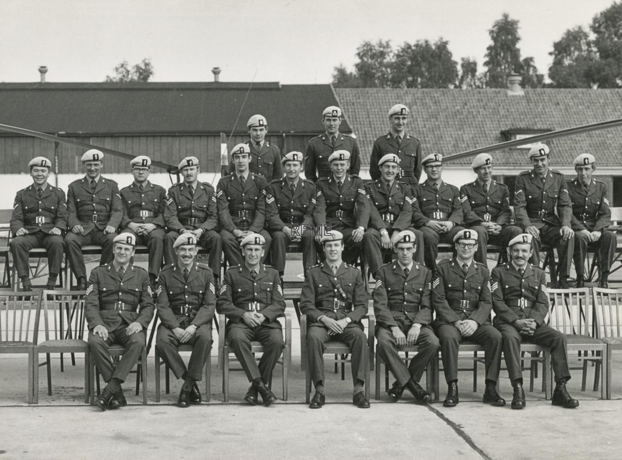 657 Squadron Army Air Corps LAD (Light Aid Detachment), Soltau.