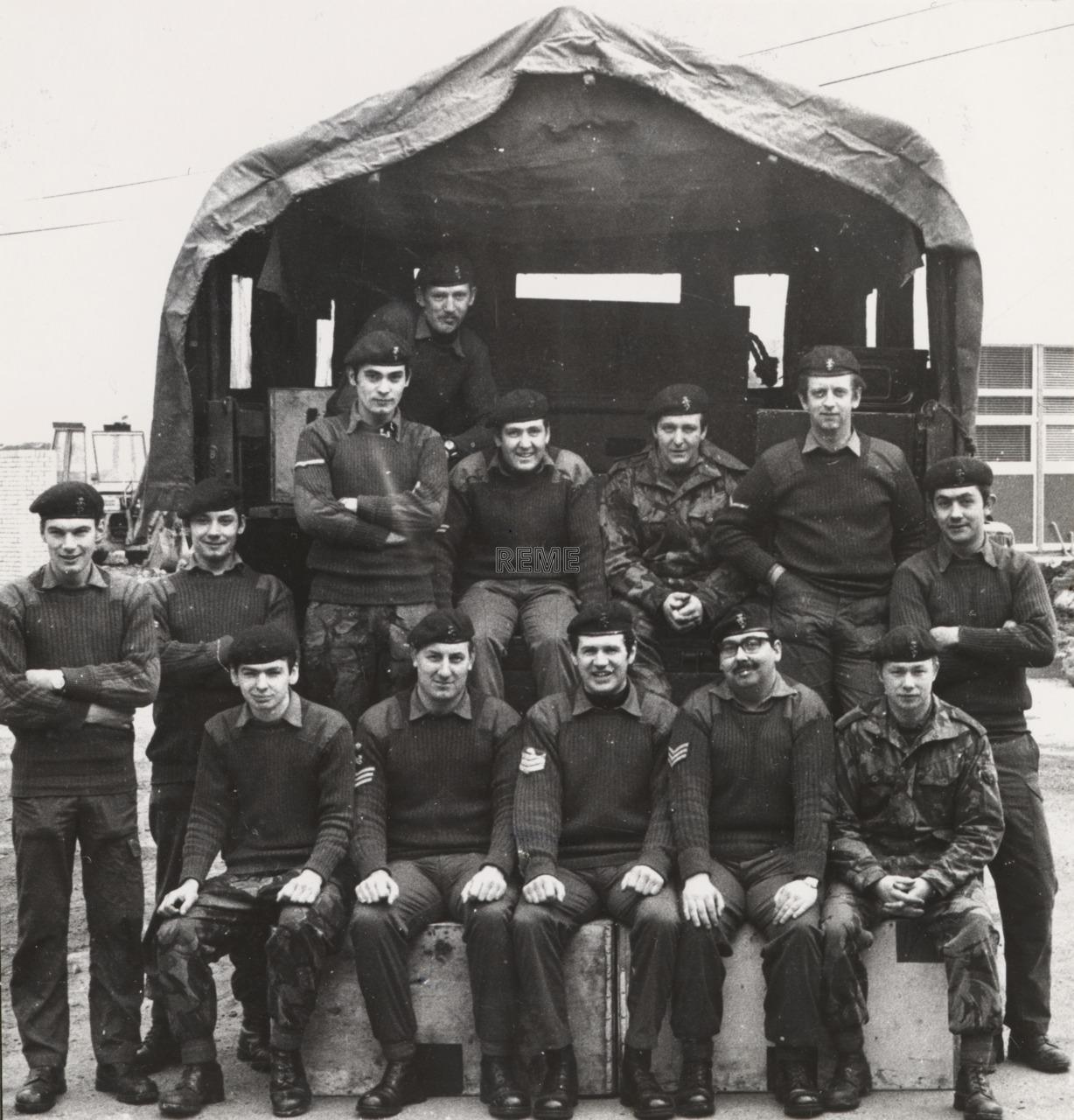 3 Light Infantry LAD (Light Aid Detachment), 1975