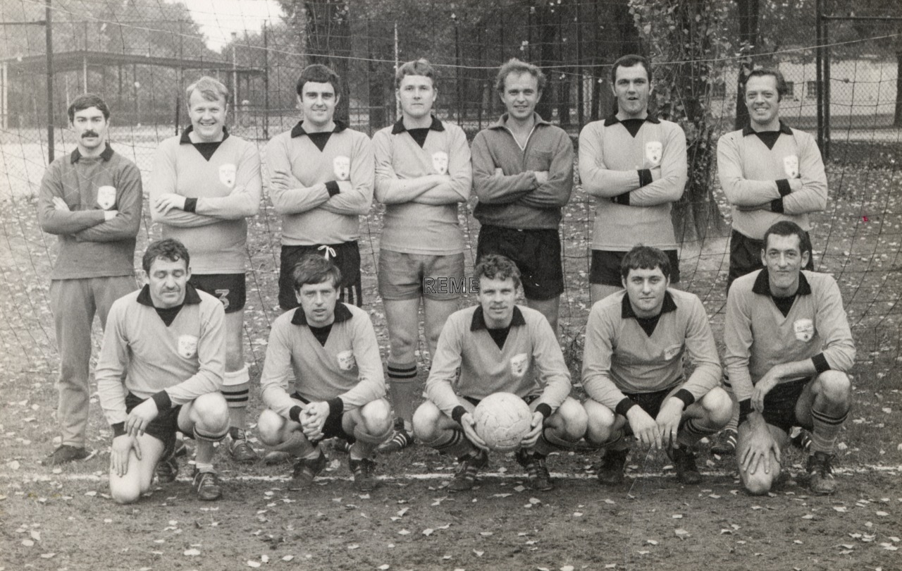 38 Squadron RCT (Royal Corps of Transport) Workshop Football Team