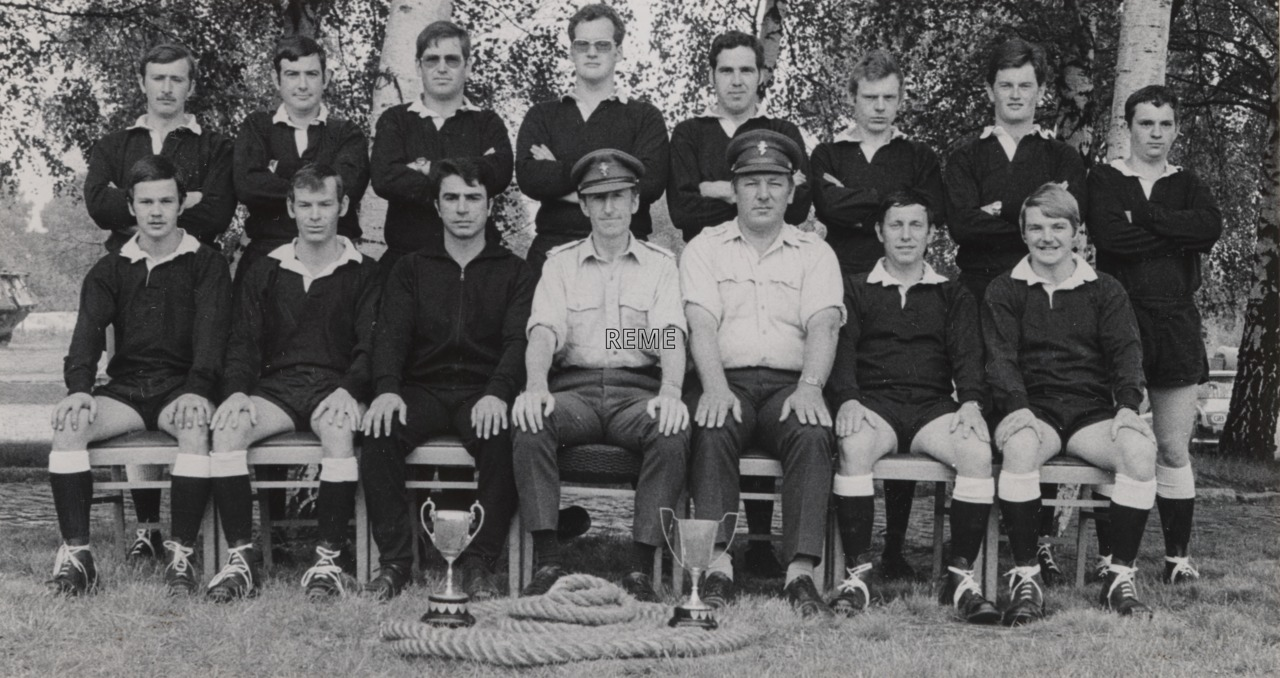 7 Field Workshop, Fallingbostel, Tug-of-War Teams