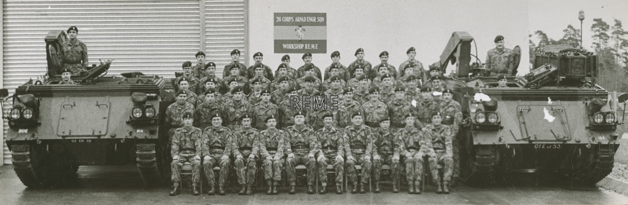 26 Corps Armoured Engineering Squadron Workshop
