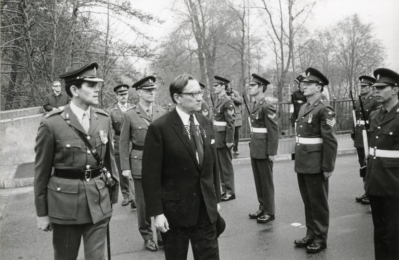 14 Berlin Field Workshop, Germany, receives the Freedom of Spandau,1978.
