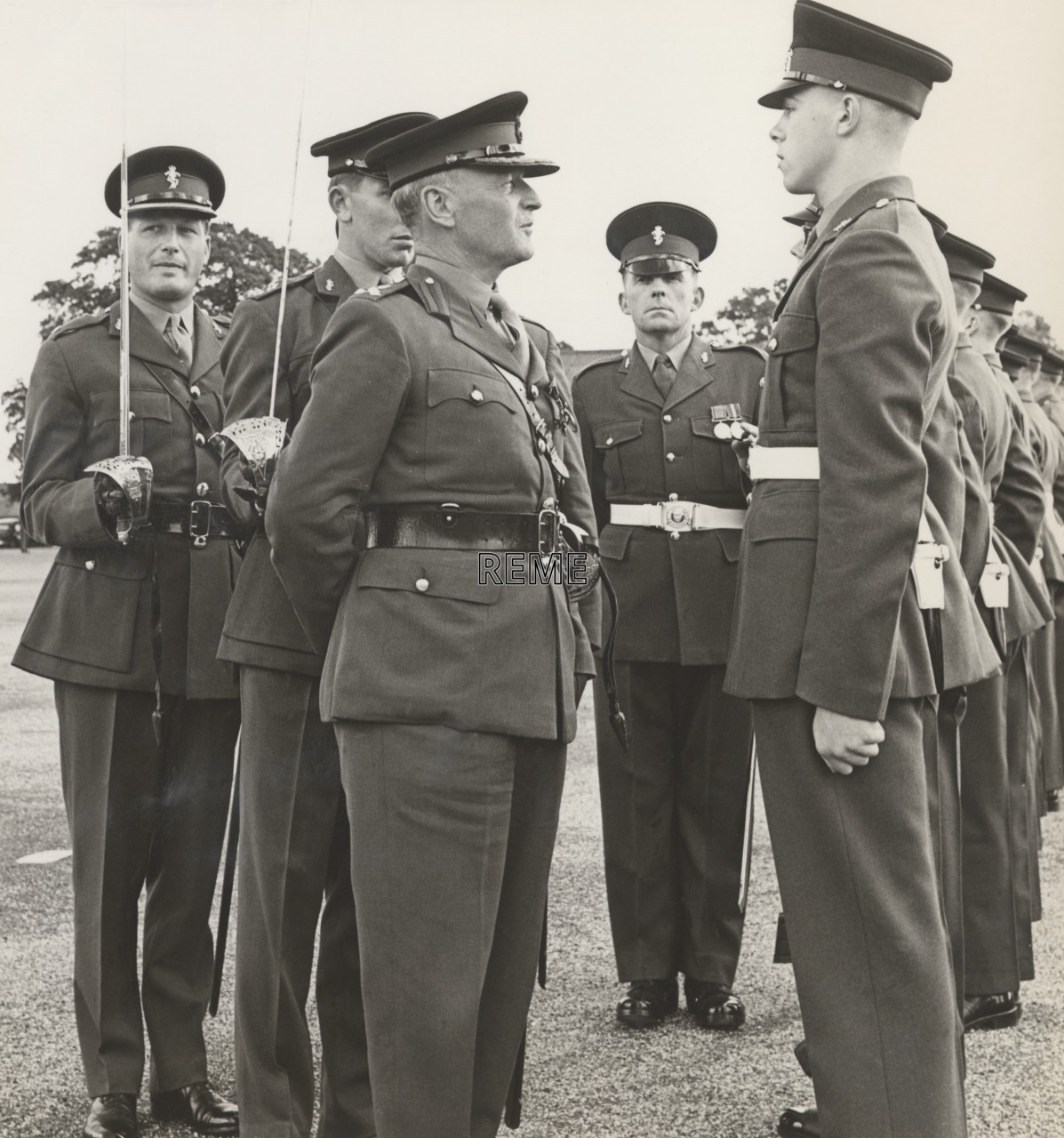 The 5000th recruit at The Depot REME