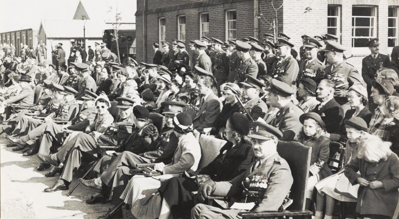 REME Birthday Parade, Arborfield, 1952