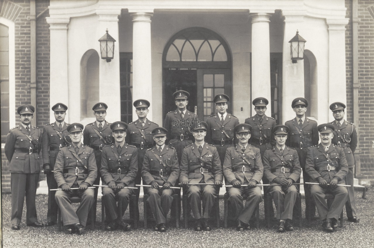 No 6 Commonwealth Officers' Course, 6 Training Battalion, Bordon, 1953.