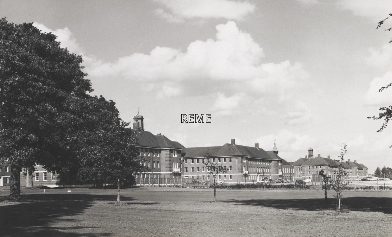 The Royal Military College of Science, Shrivenham, 1964.