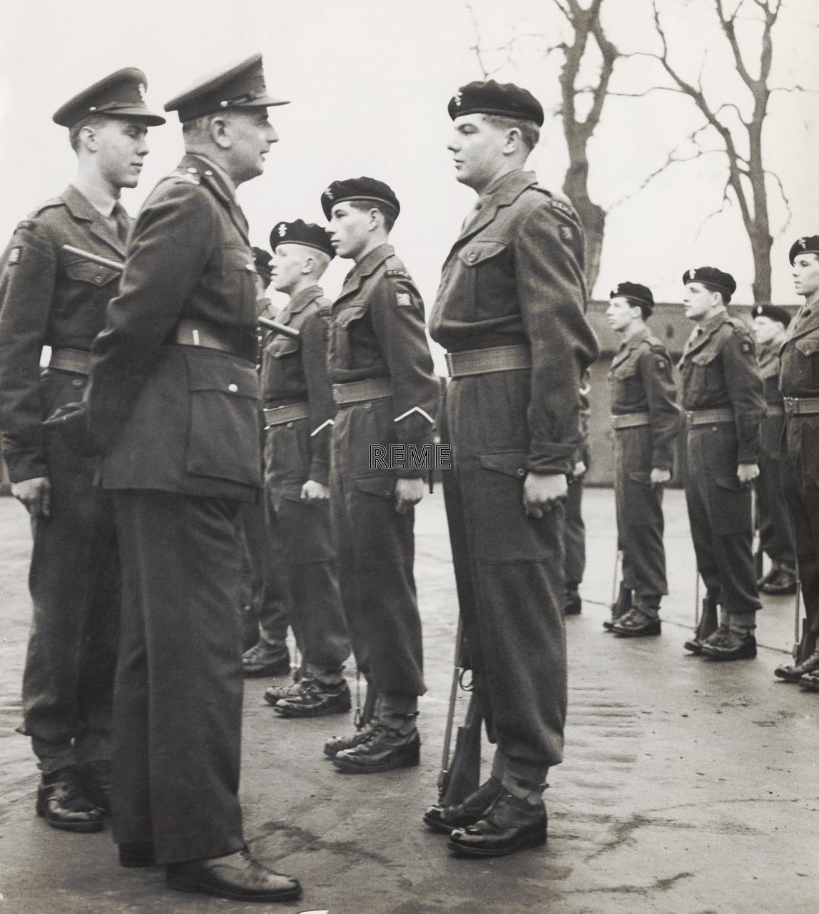 26 Command Workshop REME, Stirling,1953.