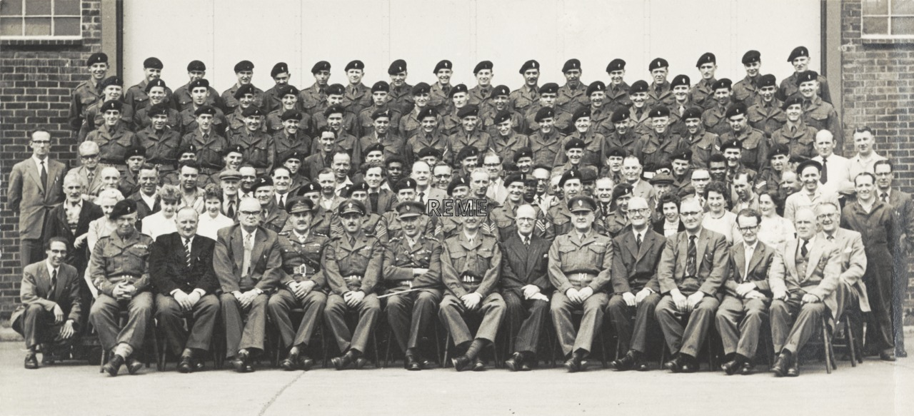 3 Command Workshop with Brigadier C N Sanderson OBE, Castle Bromwich, 5 June 1959.
