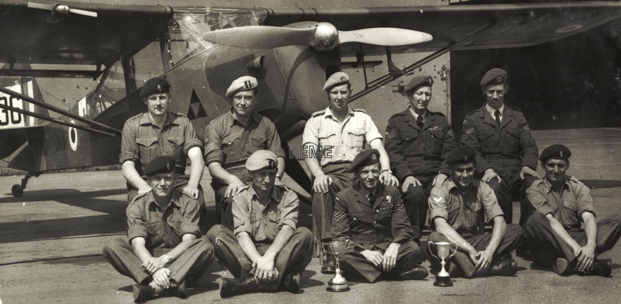 651 Light Aircraft Squadron Workshop, REME, Team for the King's Cup Air Race 1959