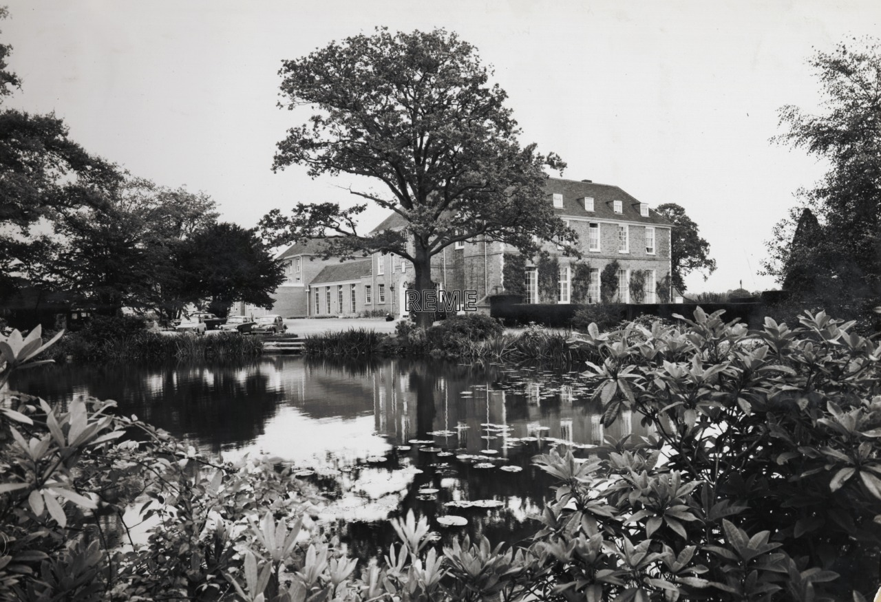 REME HQ Officers' Mess, West Court, Arborfield, October 1965.