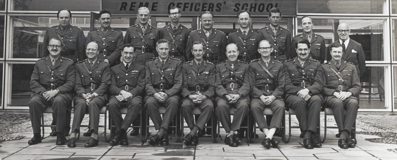 Second Management Seminar, REME Officers' School, Arborfield, 1965.