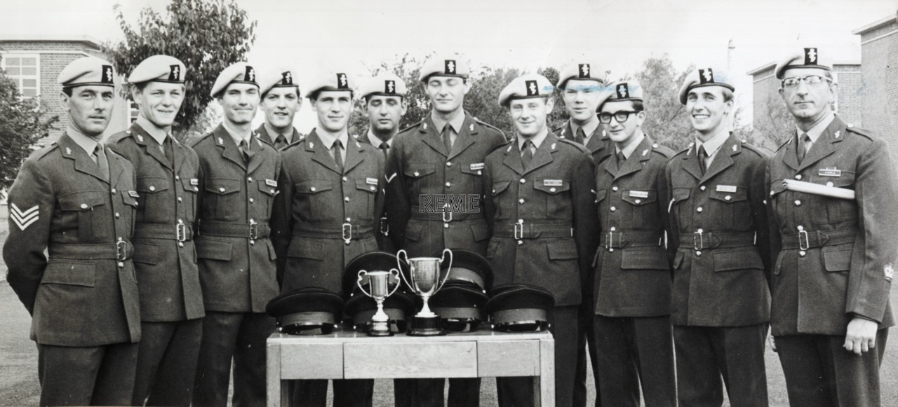 No 96 AE Course, Middle Wallop, 1971.