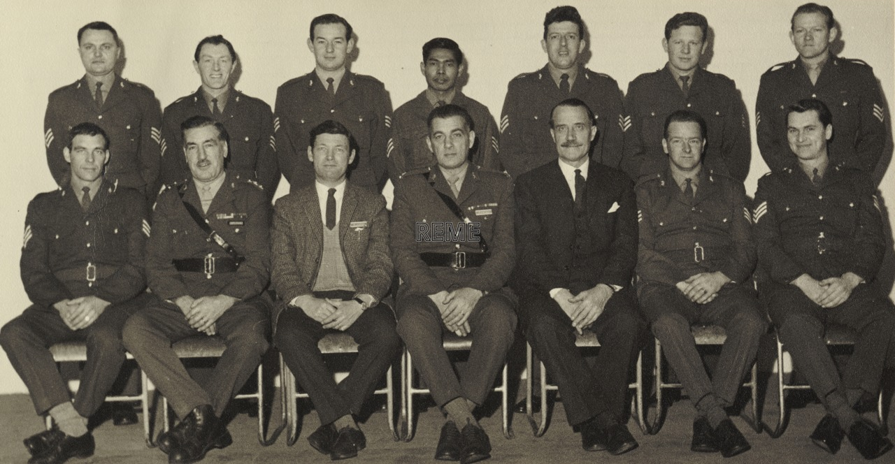 34 Artificer Weapons Course, School of Electrical and Mechanical Engineering (SEME), April 1969.