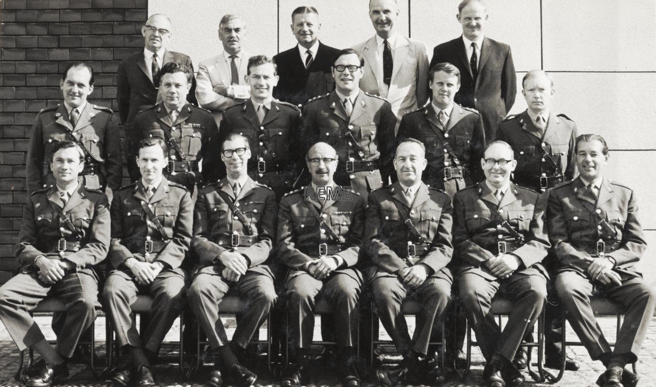 REME Officers' School, Arborfield, September 1969.