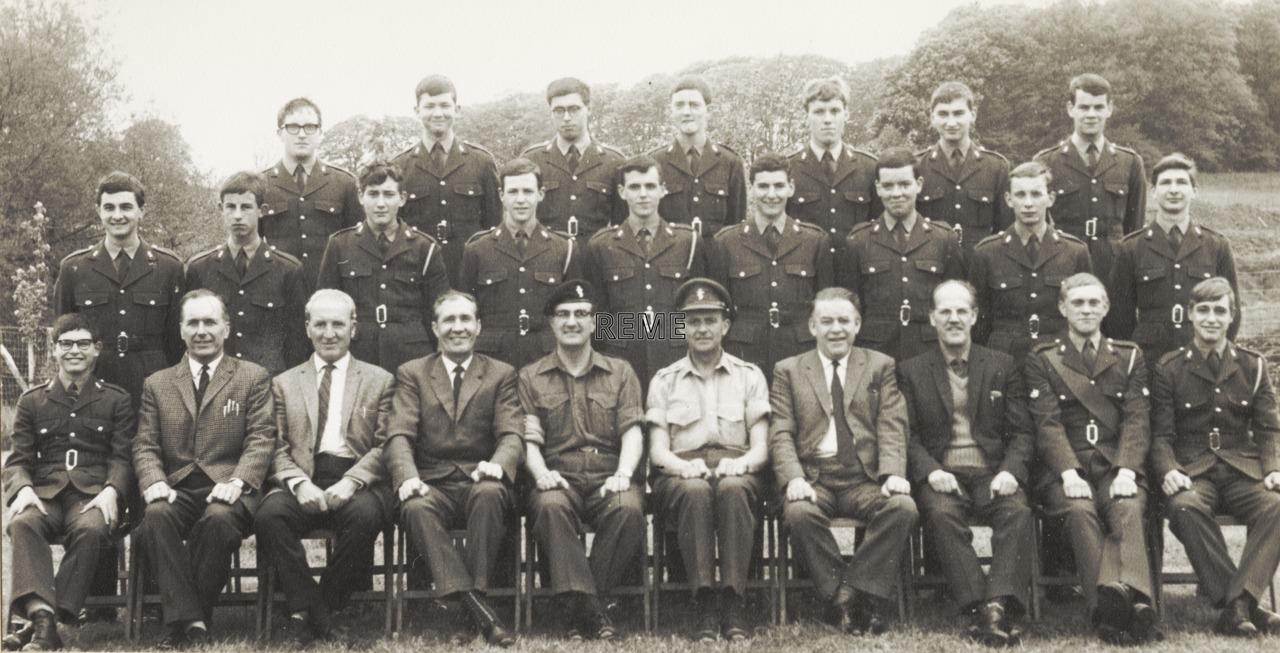 Armourers Apprentices' Course, Army Apprentices College, Carlisle.