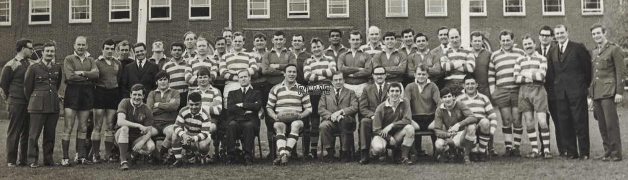 Corps Rugby Team, 1967-1970.