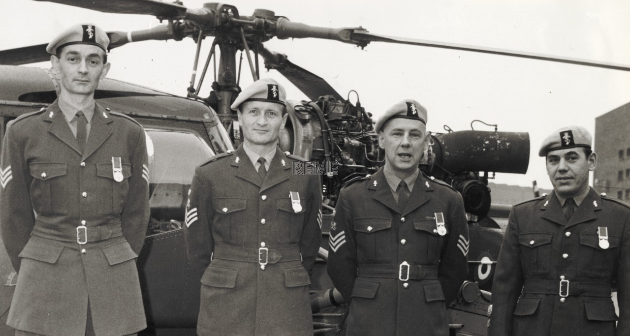 AETW Permanent Staff Instructors, Recipients of the Long Service and Good Conduct Medal