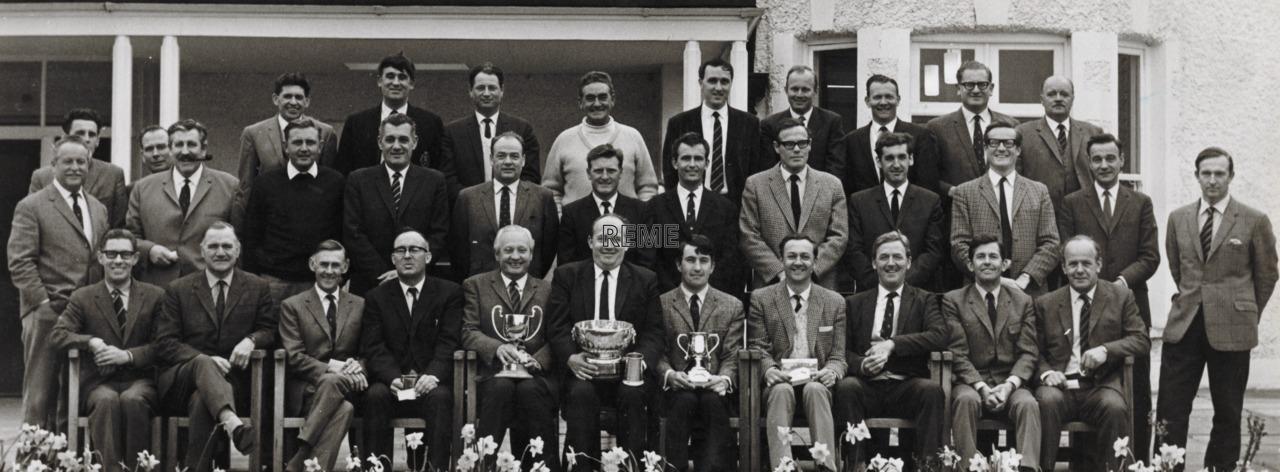 REME Corps Golf Championship Team, 1970.