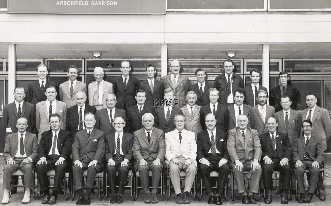 REME Association, Branch Delegates Meeting, Arborfield, 1972