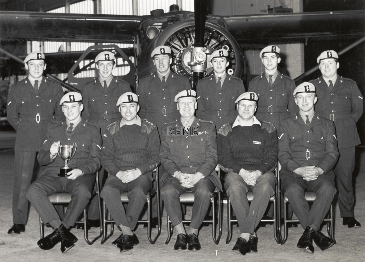 No 99 Aircraft Technician Course AETW REME, Middle Wallop, March 1972.