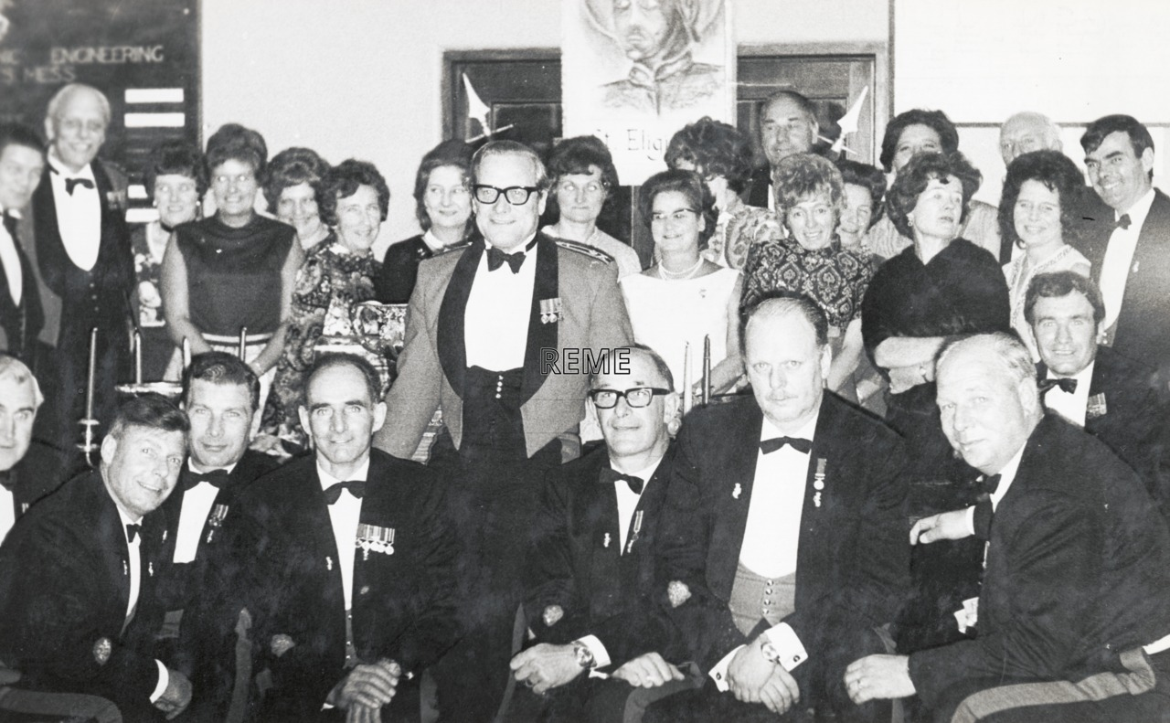 Sergeants' Mess Ball, School of Electronic Engineering (SEE), Arborfield, October 1972.