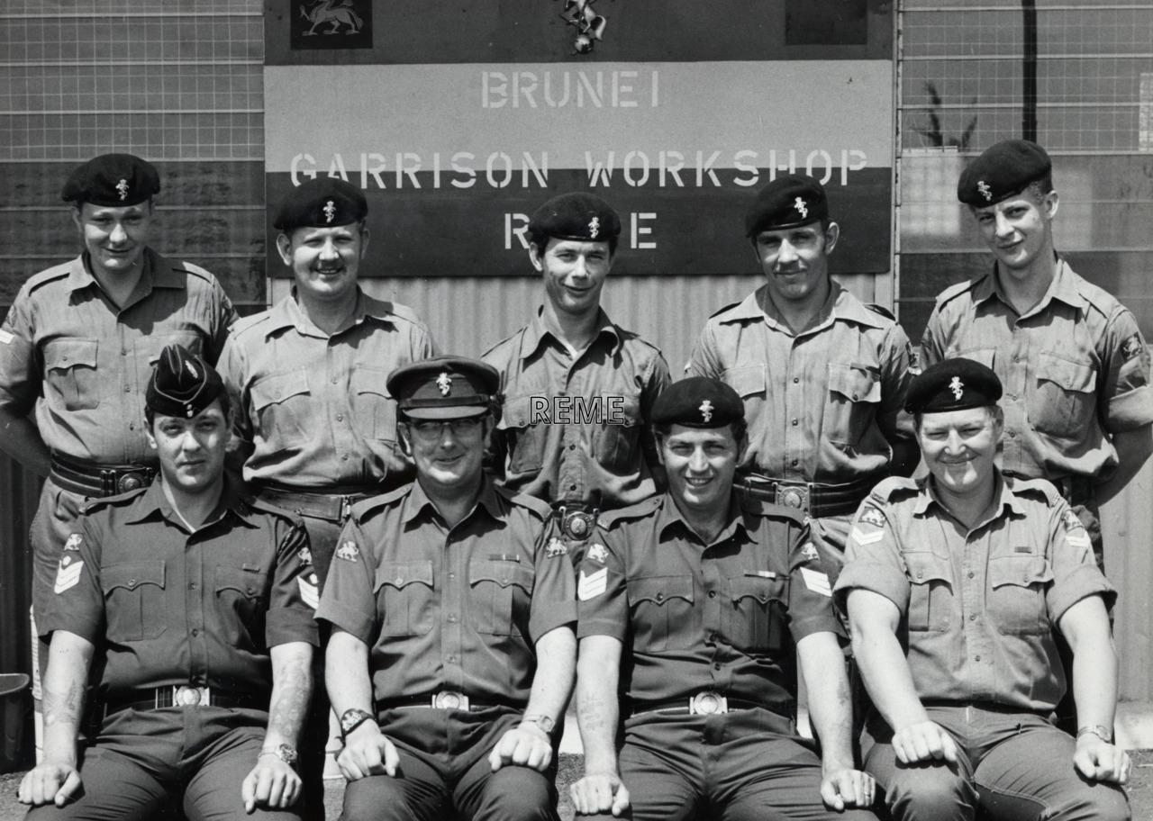 Brunei Garrison Workshop REME, c 1960