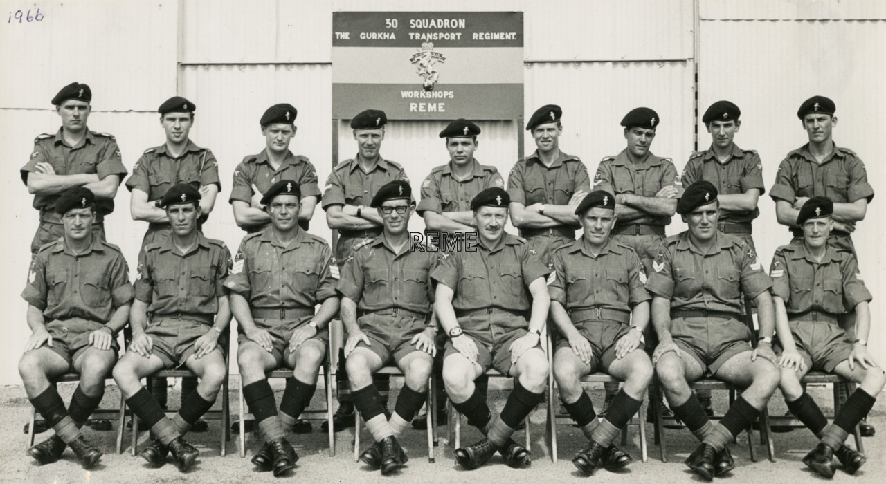30 Squadron, Ghurkha Transport Regiment Workshop REME