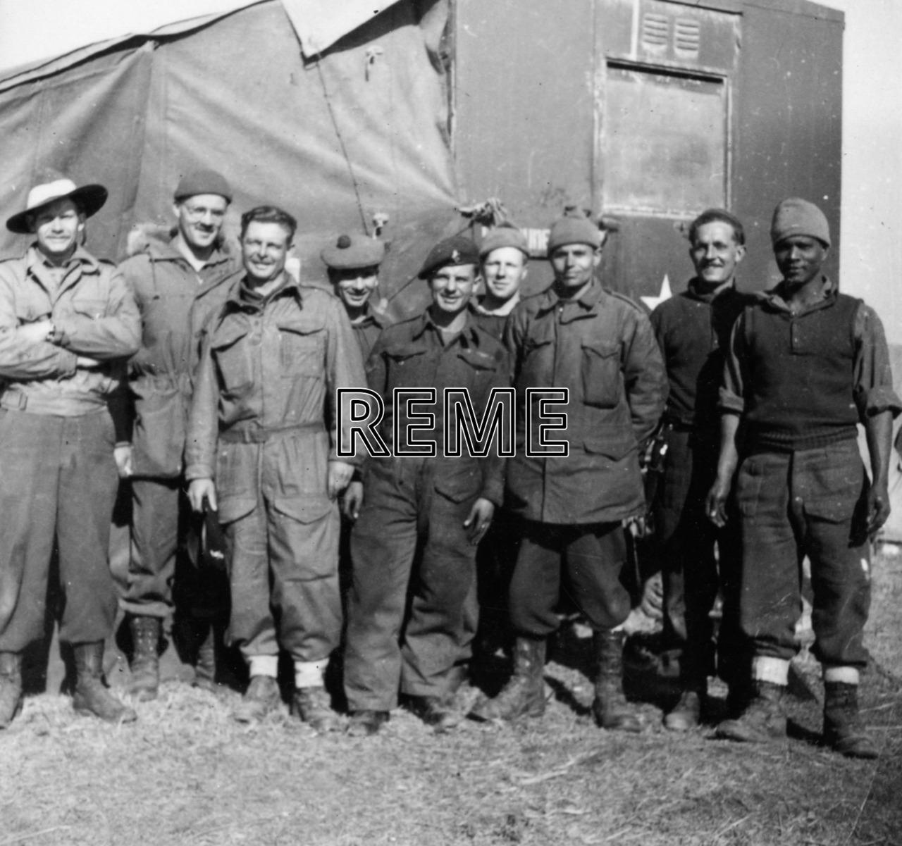 11 Infantry Workshop REME, Korea, 1950-1951
