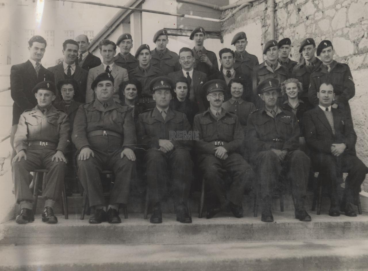 Headquarters REME Gibraltar, St Jago's Barracks, May 1951