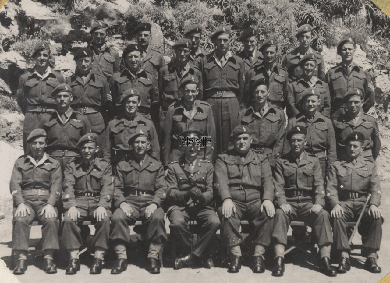 Warrant Officers' and Sergeants' Mess, Garrison Workshop REME, Gibraltar, May 1950