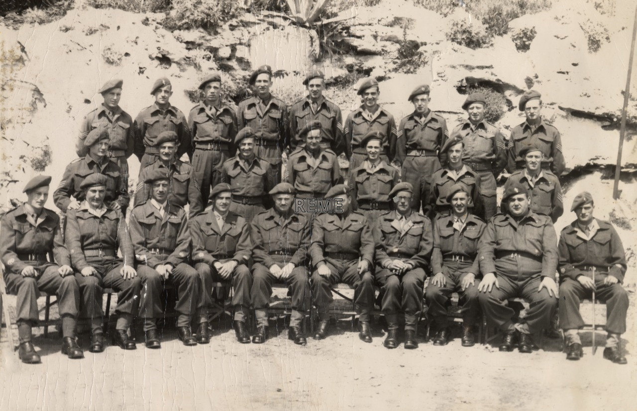 REME Sergeants (Sgts)' Mess, Gibraltar, May 1948