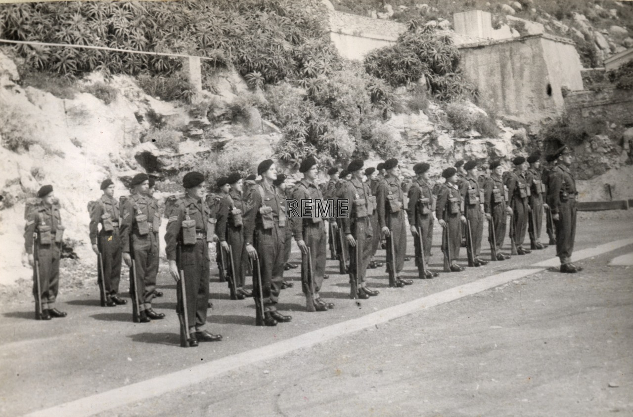 REME soldiers in Gibraltar