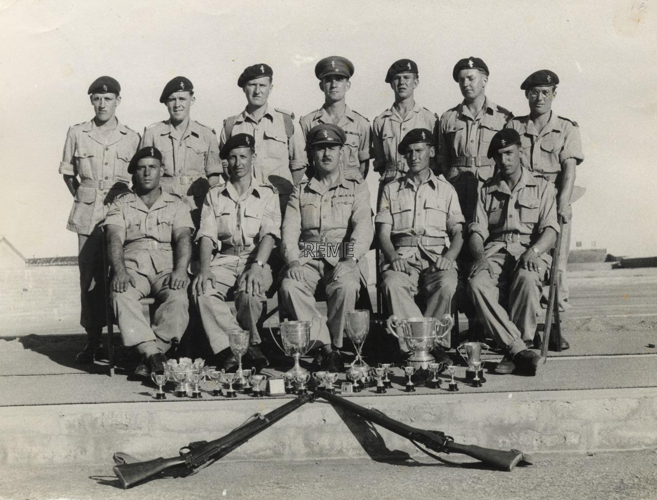 Gibraltar Command Rifle Meeting, Garrison Workshop REME, September 1952